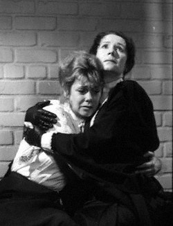 Elizabeth Montgomery as Lizzie Borden with Katherine Helmond