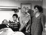Liz, Simpson. Todd Bridges and Rosalind Cash