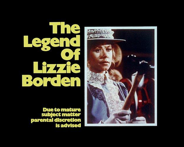 Elizabeth Montgomery as Lizzie Borden