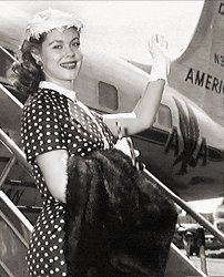 Young Liz and American Airlines