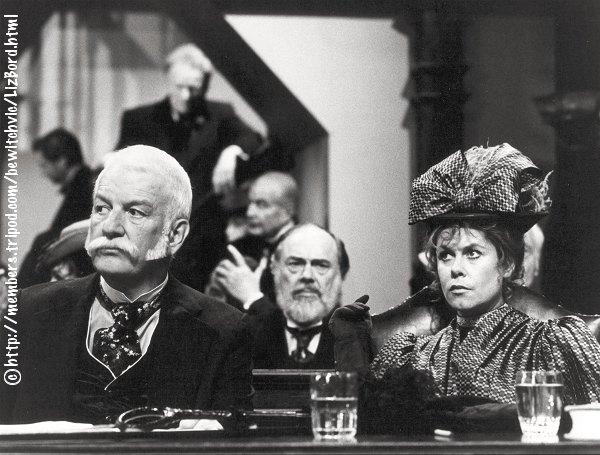 Elizabeth Montgomery as Lizzie Borden with Don Porter